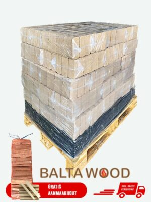 RUF Briketten 96pak 960kg op pallet